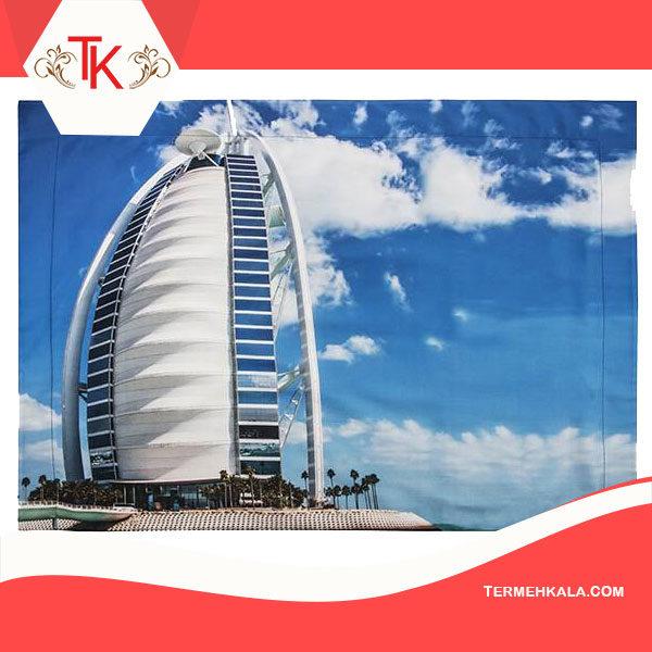 سرویس ملحفه ای مدل Dubai دو نفره ۶ تکه